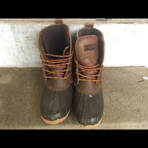 London Fog Shoes | Mens London Fog Duck